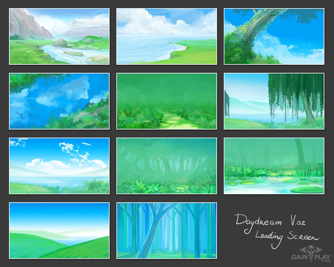 Daydream Background Concepts